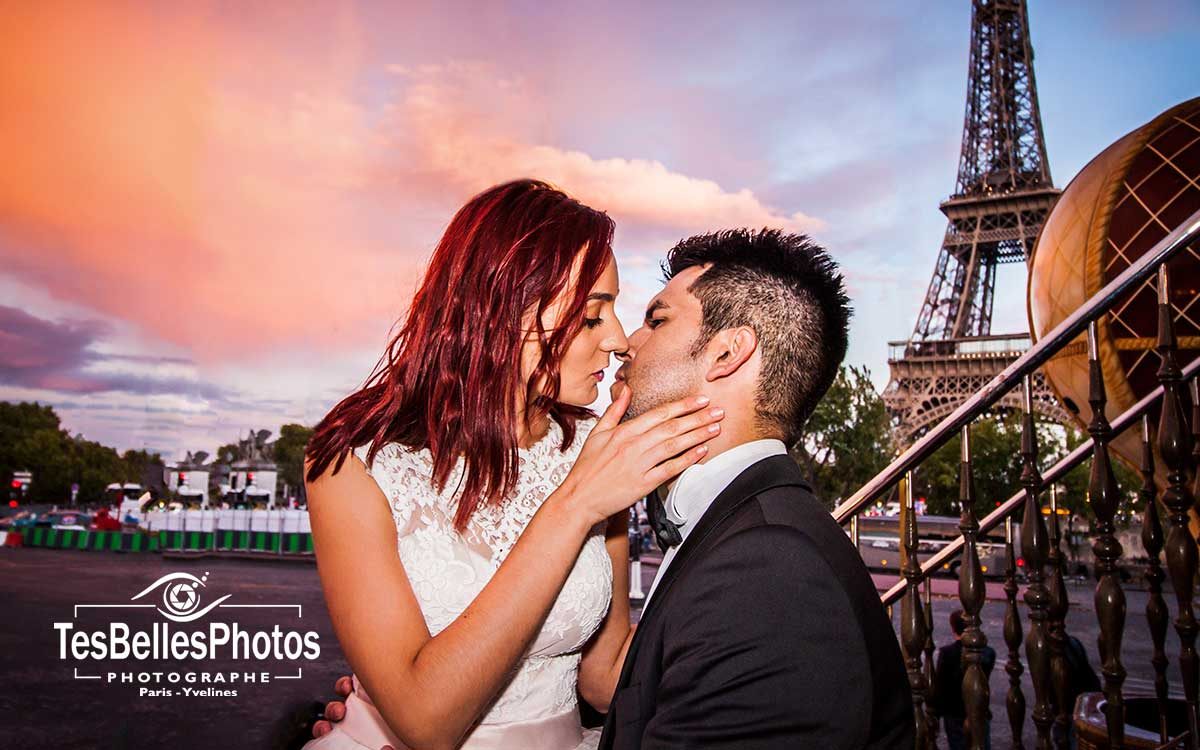 Tarifs séance photo couple mariage Paris, tarifs photographe mariage couple Paris